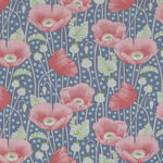 Gardenlife by Tilda Poppies Blue 100419