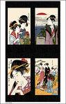 Geisha Gathering by Kona Bay GEIS-23 col Black