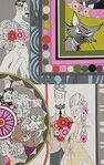 Ghastlie Love By Alexander Henry Fabrics 8788 B Brights