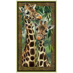 Giraffe Artworks V11 Digital Panel From QT Fabrics 1649-26437-X