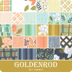 Goldenrod Jelly Roll by One Canoe Two for Moda Fabrics 36050JR.