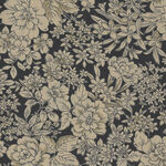 Good Taste from Cosmo Textiles KP9065 col 5F Black.