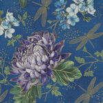 Graceful Garden By Hoffman Fabrics HS7730 018G Royal Gold.