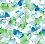 Graceful Garden By Hoffman Fabrics HS7731 445G Spearmint Gold.