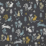 Grove Woodland Fabric Panel by Lynne Goldsworthy for Makower Fabrics Design 2163