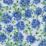 Hancock Fabric Spring Cotton 3025 Blue