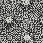 Haori Cotton Fabric M18034-2 Black/Grey/White