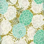 Heather Bailey Parasol Fabric by Free Spirit