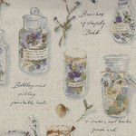 Herbarium Collection by Lecien Cotton/Linen 40988 Colour 10 Natural