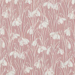 """Hesketh By Liberty Of London 44"""" Cotton 04775656Y Pink/White."""