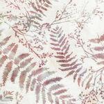 Hoffman Batik Cotton Fabric HS2313 020 Col. Natural Ladies In Lilac.