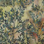 Hoffman Batik Cotton Fabric HS2317 106 Col. Celery.