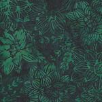 Hoffman Batik Cotton Fabric HS2329 702 Col. Deep Emer.