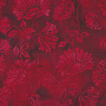Hoffman Batik Cotton Fabric HS2331 568 Col. Red Velve.