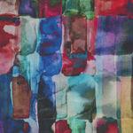 Hoffman Spectrum Digital All Purpose Flower Q4438 Color 162 Jewel