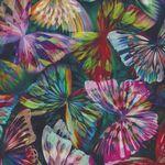 Hoffman Spectrum Digital Mystic Meadow Rainbow Butterflies HN4241 181