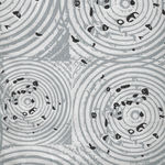 Homeward By Natalie Barnes for Windham Fabrics 50815-7 Grey/White Circles