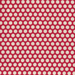 Honeycomb by Kei Fabrics Spots KF03-19 Color 108 Red