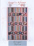 """Hugs and Kisses Patchwork Pattern """"Ginger Spice"""""""