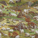 In The Country from Nutex Fabrics 89310 Color 104 Sheep