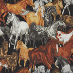 In The Country from Nutex Fabrics 89310 Color 7 Horses