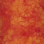 Island Batik 111812210 Floral/Dragonfly/Dot Pumpkin
