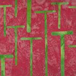 Island Batik 821706260 Deep Peach/Terracotta w Lime