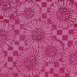 Island Batik Cotton Fabric 121930315 Col. Check Sunflower.