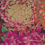 Japanese Chrysanthemum Fabric by Kaffe Fassett Collective For free Spirit PJ41 C