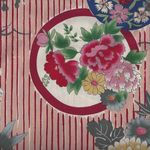 Japanese Cotton Fabric Circles 01