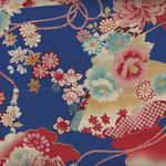 Japanese Cotton Fabric Royal 03