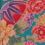 "Japanese Cotton Quilting Fabric ""Temari"""