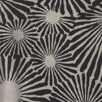 Japanese Modern Cotton Fabric UP-5711 Colour A Black/Cream.