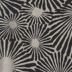 Japanese Modern Cotton Fabric UP-5711 Colour A Black/Cream.