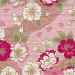 Japanese Specialty by Cosmo Cotton Good Taste AP01715 Color 2B Pink.
