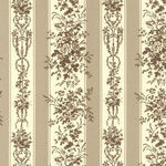 Jardin De Fleurs By French General For Moda Fabrics M13891 19 Taupe.