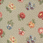 Jardin De Fleurs By French General For Moda Fabrics M13893 21 Taupe.