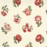 Jardin De Fleurs By French General For Moda Fabrics M13893 18 Cream.