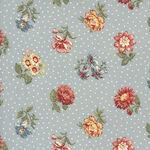 Jardin De Fleurs By French General For Moda Fabrics M13893 19 Blue.