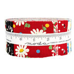 "Jelly Roll Bubble Pop by American Jane for Moda Fabrics 40Precut 21/2"" x 44"" Str"