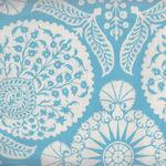 Joel Dewberry Flora Cotton Fabric Pattern Bazzar PWJD102- Eucal