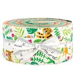 Jungle Paradise Jelly Roll by Stacey Iset Hsu For Moda 20780JR Patchwork & Quilt