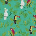 Jungle Paradise by Stacey Iset Hsu For Moda Fabrics M20782-18 Birds.