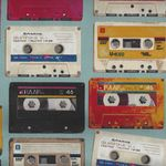 KOKKA Vintage Tapes on Cotton/Linen Blend IGA-20000 1A08