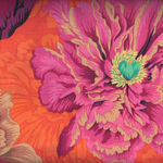 """Kaffe Fasset Collective """"Brocade Peony"""" by Phillip Jacobs PWPJ062 WineX"""