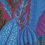 Kaffe Fasset Collective Coleus by Philip Jacobs  PWPJ030 Blue