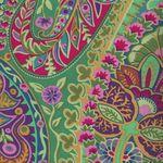 Kaffe Fasset Paisley Jungle for Rowan Fabrics GP60 Green