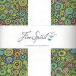 "Kaffe Fassett Collective for Free Spirit 10"" Charm Pack FB610GP.ISLAN"