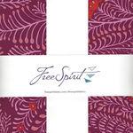 "Kaffe Fassett Collective for Free Spirit 10"" Charm Pack FB610GP.LIPST"