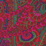 Kaffe Fassett Collective for Free Spirit PWGP60 Paisley Jungle Rust